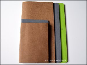 Passport, Pocket Cahier, Regular Midori, Large Cahier, A5 notebooks.