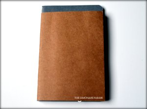Grey: Pocket Cahier Brown: Passport